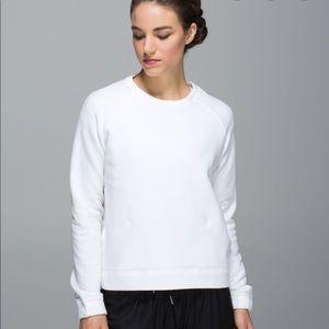 Lululemon White Sweatshirt good preowned condition